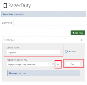 PagerDuty integration in Netreo