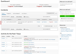 Netreo alerts in PagerDuty Integration