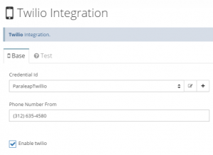 Netreo Twillio Setup - SMS notifications