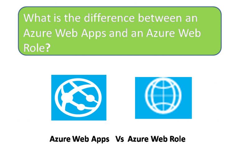 Azure Web App vs Web Roles