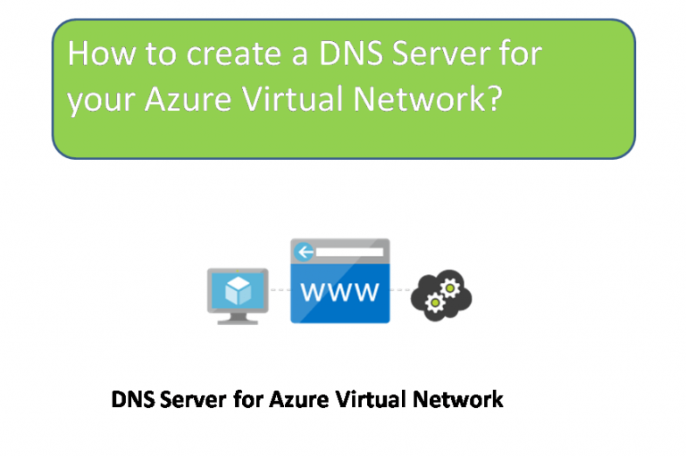 How to create a DNS Server for your Azure Virtual Network?