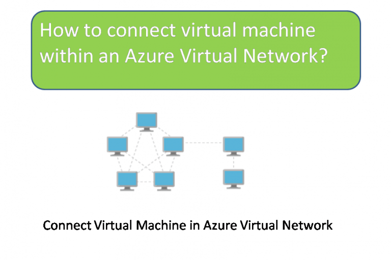How to connect virtual machine within an Azure Virtual Network
