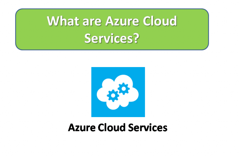 What are Azure Cloud Services