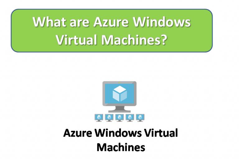What are Azure Windows VM