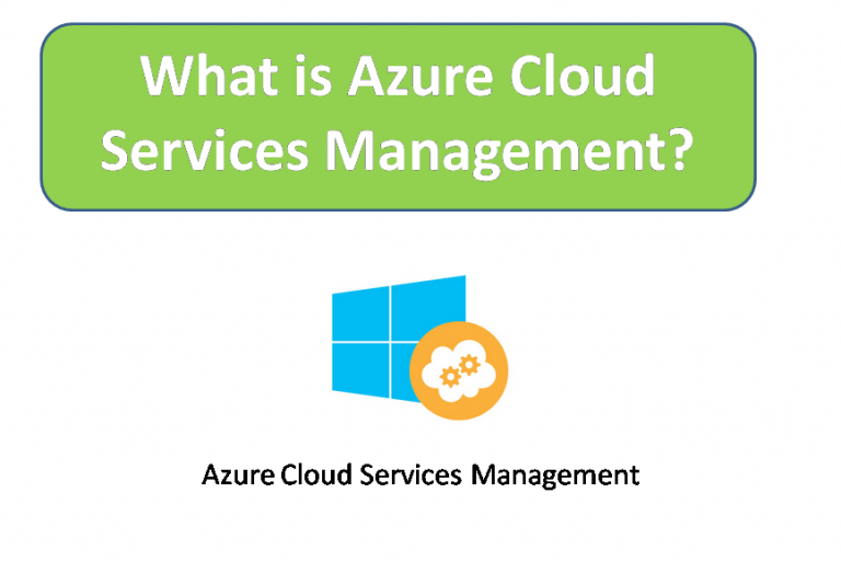 What is Azure Cloud Services Management