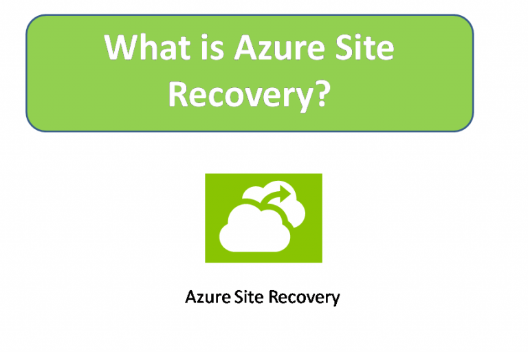 What is Azure Site Recovery