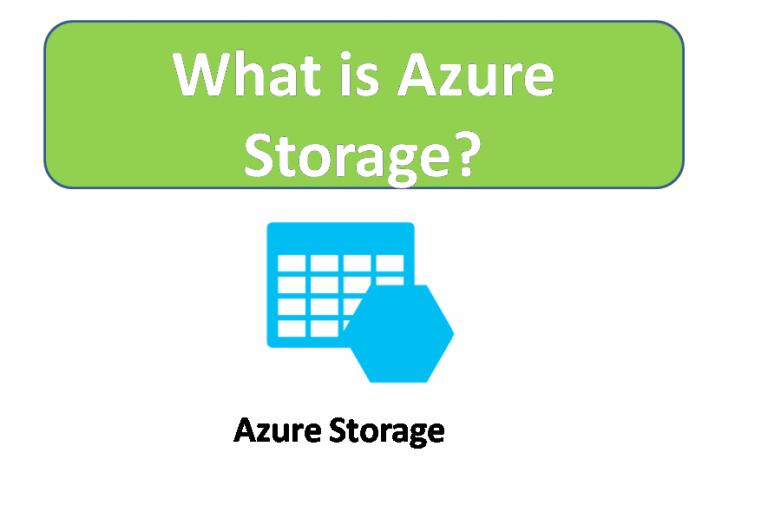 What is Azure Storage?
