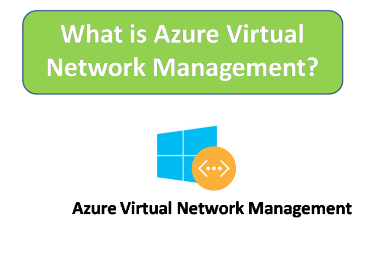 What is Azure Virtual Network Management?