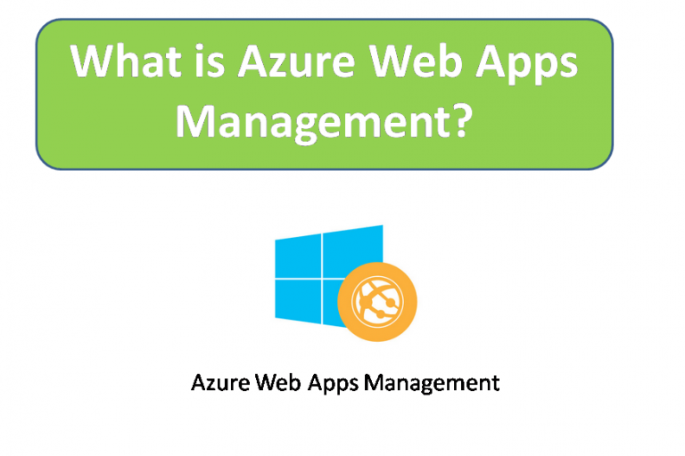 What is Azure Web Apps Management