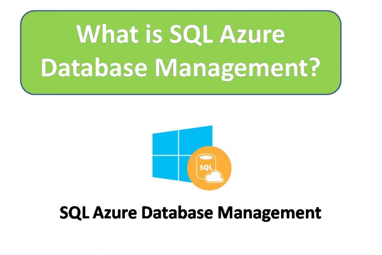 What is SQL Azure Database Management?