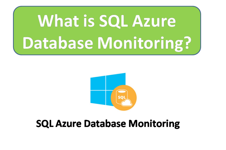 what is sql azure Database Monitoring?
