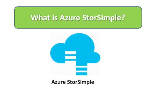 What is Azure SimpleStor?