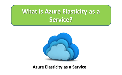 What is Azure Elasticity as a Service?