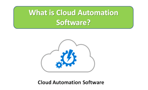 What is Cloud Automation Software?