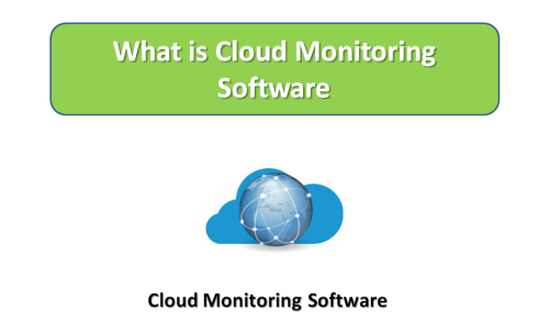 What is Cloud monitoring Software?
