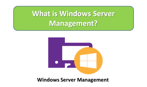 What is Windows Server Management?