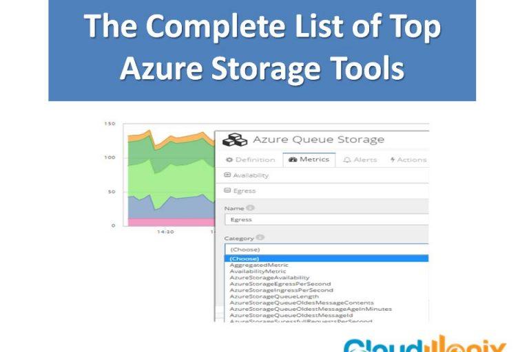 Complete List of Azure Storage Tools