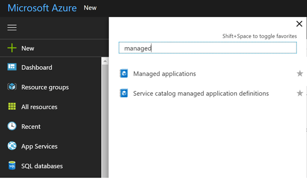 Azure Managed Applications Service Catalog Now Available