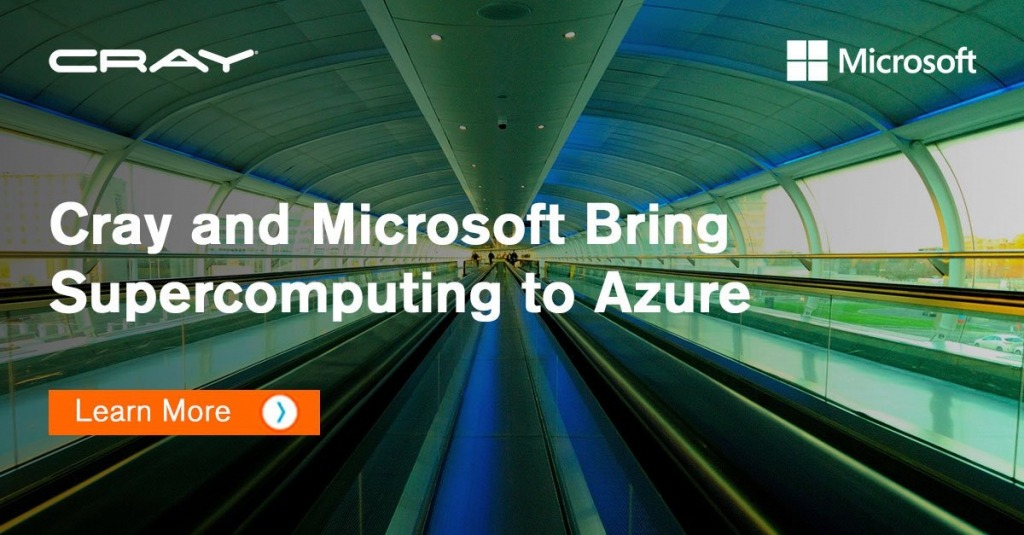 Azure Welcomes Cray Supercomputers
