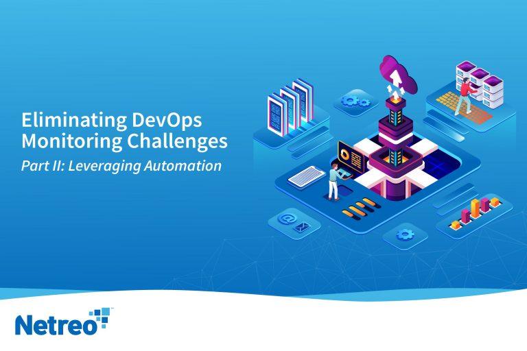 Leverage DevOps Monitoring - Netreo IT Infrastructure Network Managemet