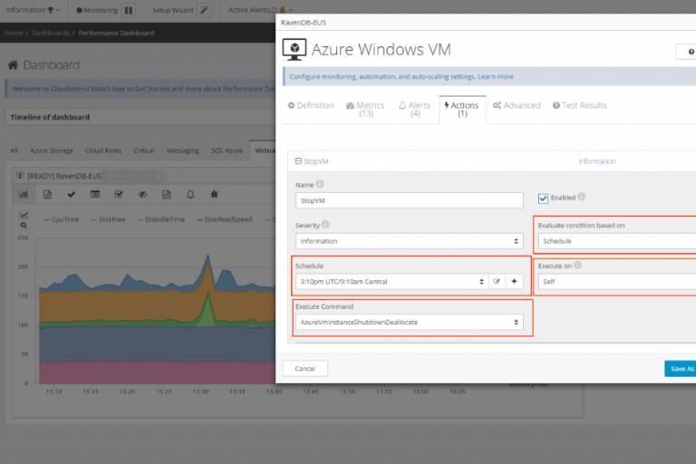 Azure VM Schedule Shutdown