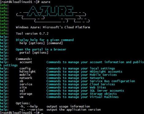 Azure X-Plat CLI