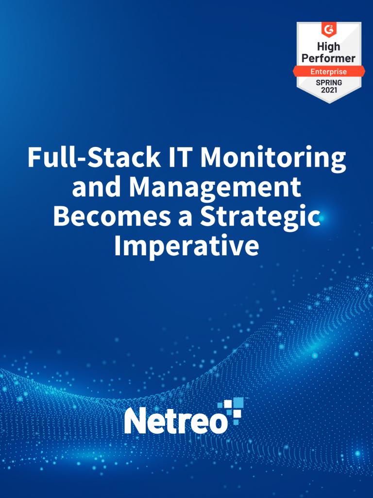 Full Stack IT Monitoring