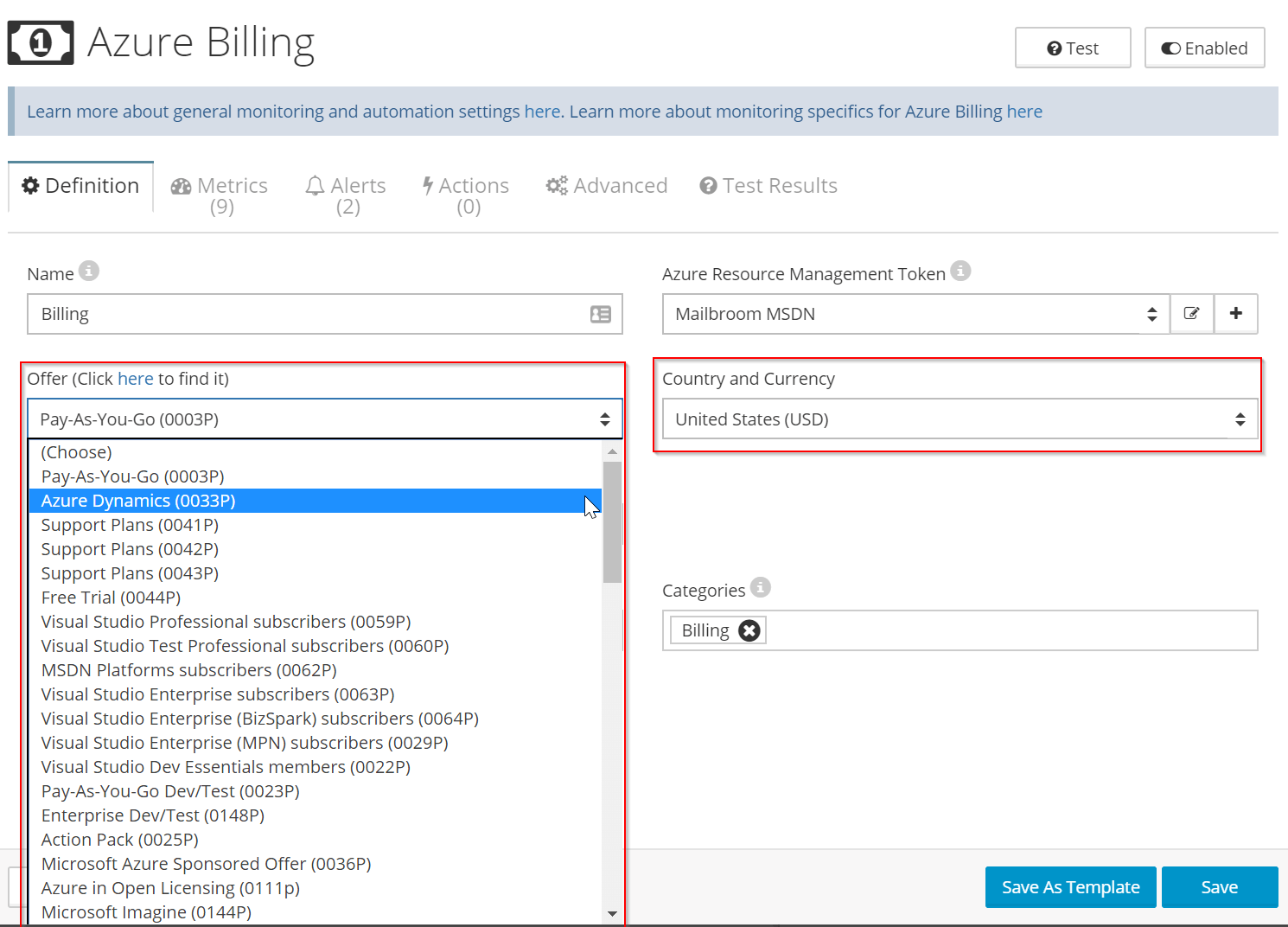 How to automatically control Azure costs