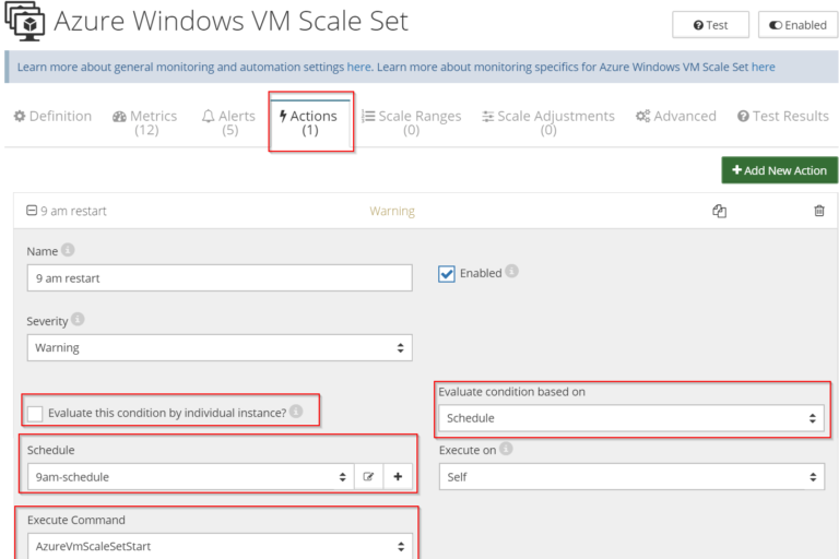 Azure Windows VM Scale Set