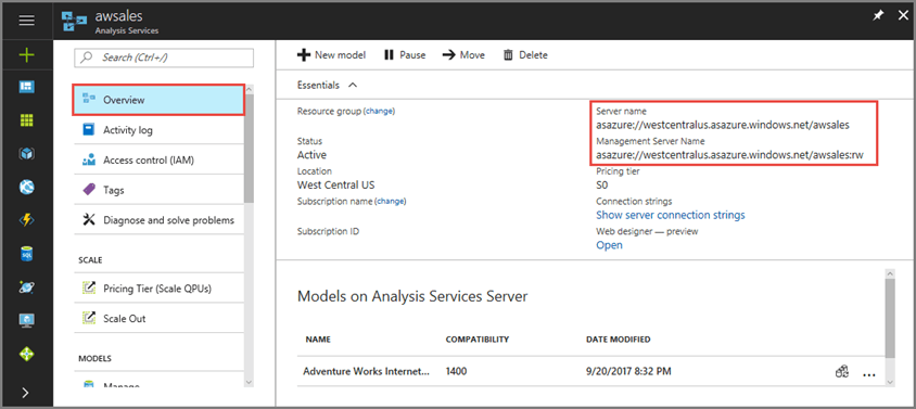 Benefits of Query Replica Scale-Out for Azure Analysis Services