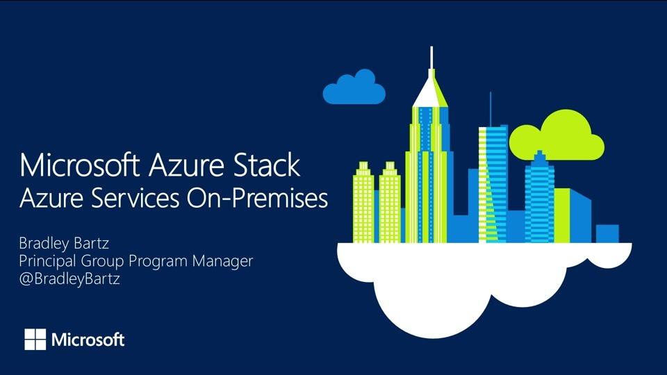 Introducing Azure Stack - azure stack