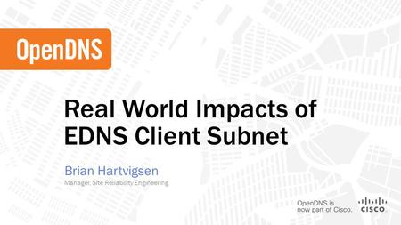 Azure EDNS Client Subnet