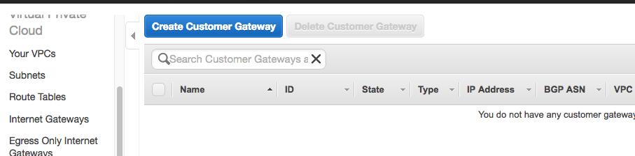 Customer GAteaway