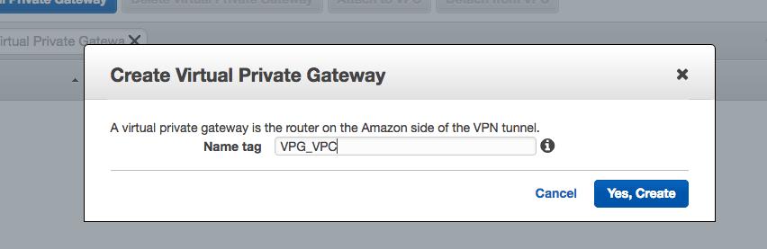 Private Gateaway