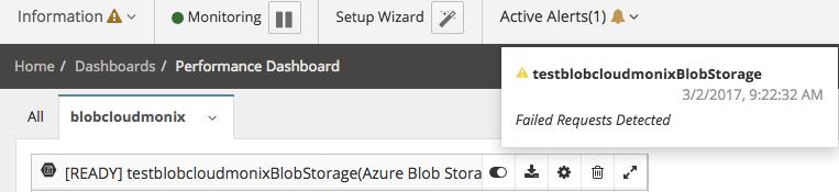 Monitor azure storage with Netreo - Image 14