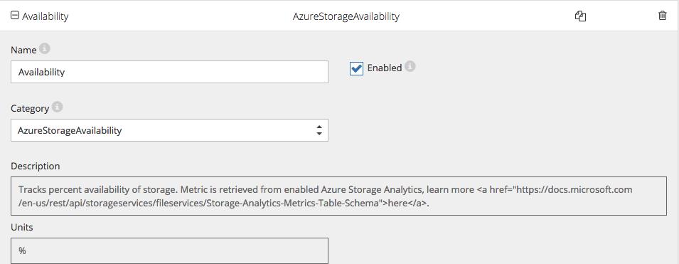 Monitor azure storage with Netreo - Image 18
