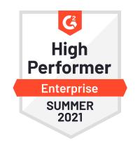 Netreo - G2 High Performer Enterprise Summer 2021