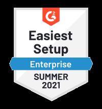 Netreo - G2 Easiest Setup Enterprise Summer 2021