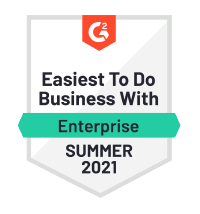 Netreo - G2 Easiest To Do Business With Enterprise Summer 2021
