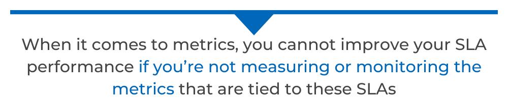 sla metrics pull quote