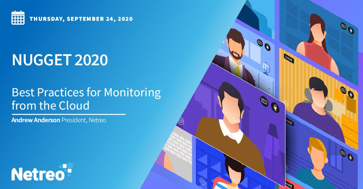 Best Practices for Monitoring from the Cloud