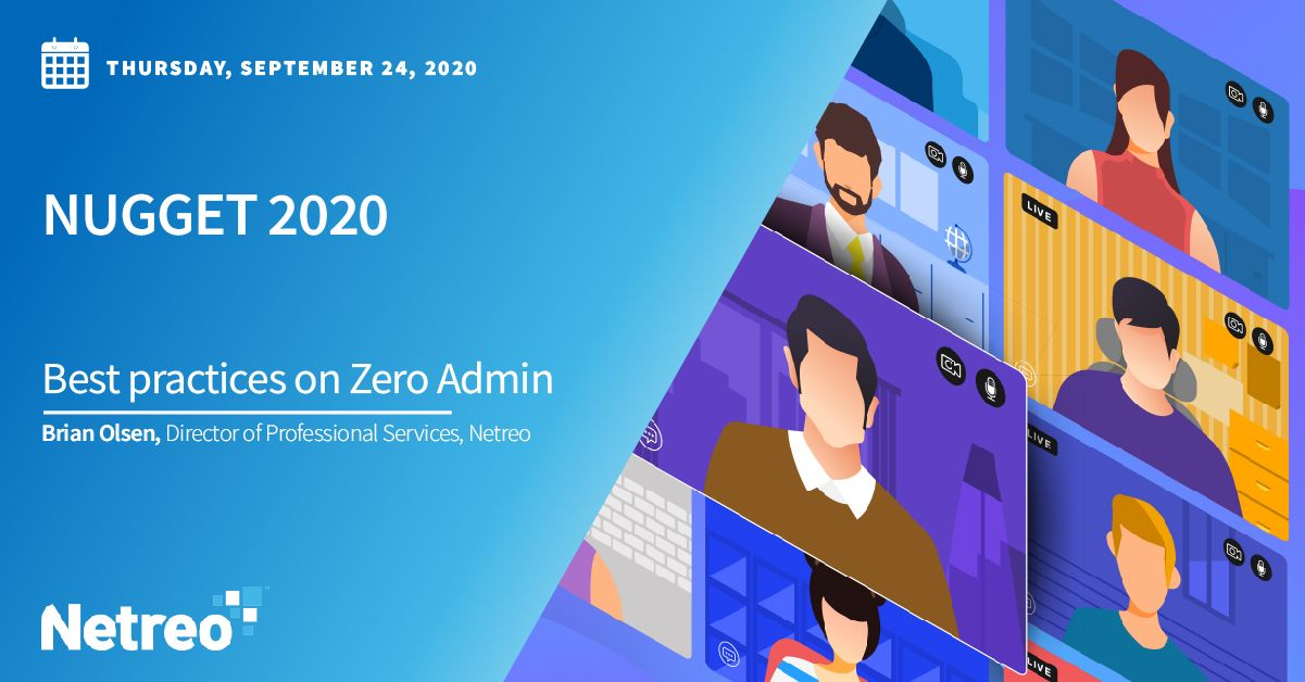 Best Practices on Zero Admin