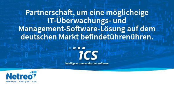 Partnerschaft, um eine möglicheige IT-Überwachungs- und Management-Software-Lösung auf dem deutschen Markt befindetührenühren - Netreo - IT Monitoring Management
