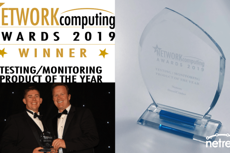 Netreo Achieves Product of The Year Honors for Fourth Consecutive Year at Network Computing UK Awards Ceremony