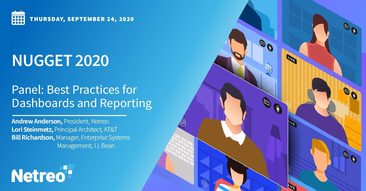 PANEL: Best Practices for Dashboards and Reporting