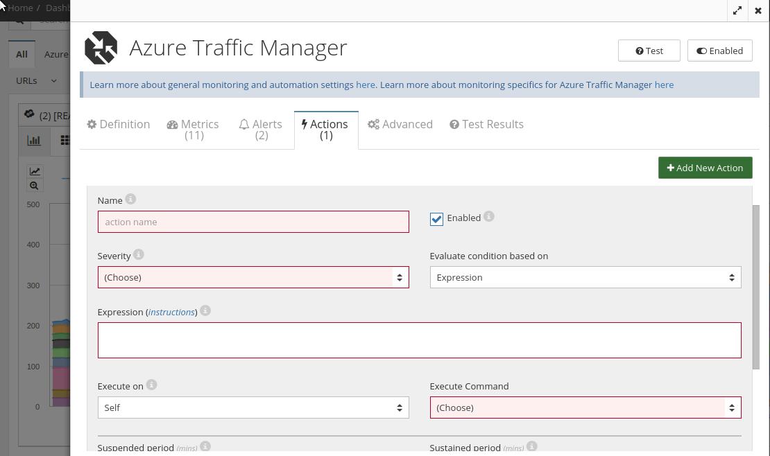 Azure traffic manager automation