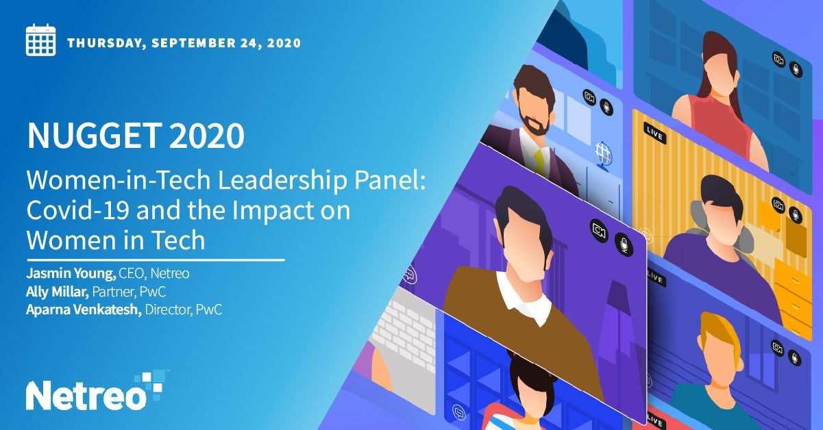Women-in-Tech Leadership Panel: Covid-19 and the Impact on Women in Tech