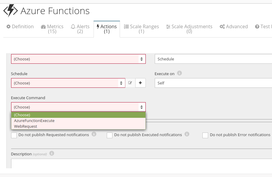 Azure Functions Automation