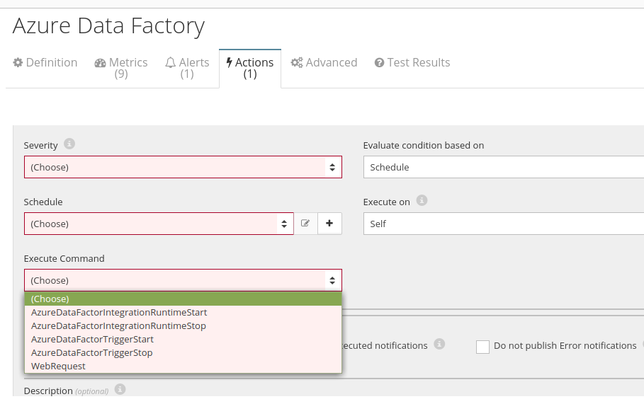 Azure Data Factory Automation