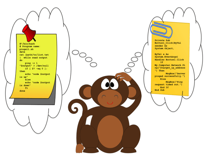 IT Monitoring - Any Monkey Can Ping